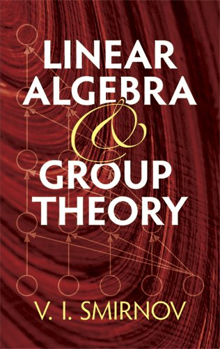 Linear Algebra and Group Theory   2011 edition cover