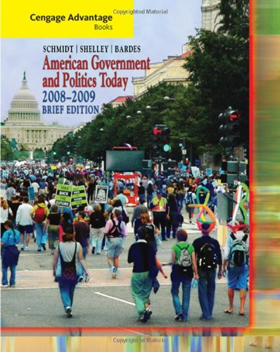 American Government and Politics Today  5th 2009 (Revised) edition cover