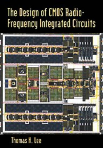 Design of CMOS Radio-Frequency Integrated Circuits   1998 edition cover