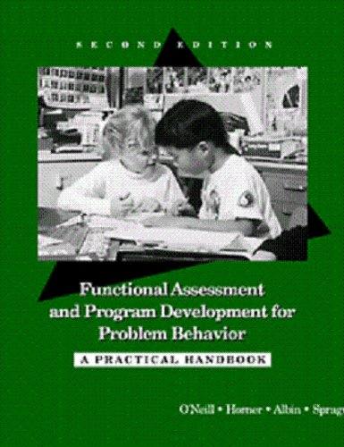 Functional Assessment and Program Development for Problem Behavior A Practical Handbook 2nd 1997 (Revised) edition cover