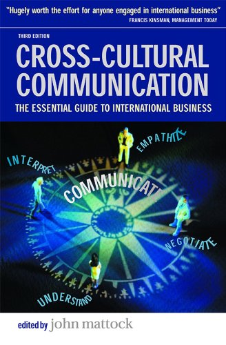 Cross-Cultural Communication The Essential Guide to International Business 3rd 2003 edition cover