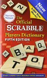 Official Scrabble Players Dictionary  5th 2014 (Revised) 9780877798224 Front Cover