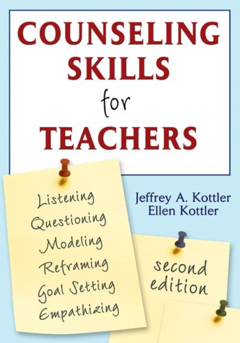 Counseling Skills for Teachers  2nd 2007 (Revised) edition cover