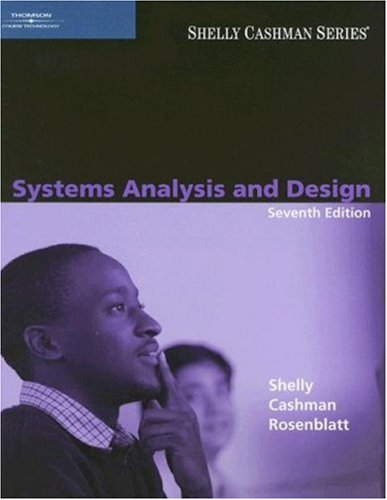 Systems Analysis and Design  7th 2008 (Revised) edition cover