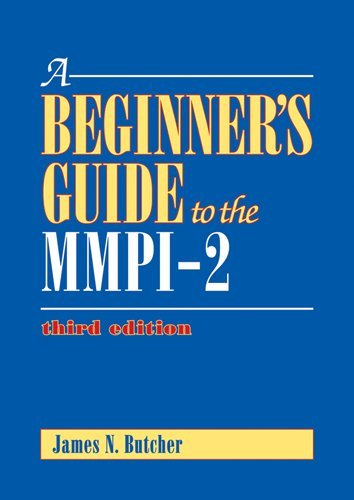 Beginner's Guide to the MMPI-2  3rd 2011 (Revised) 9781433809224 Front Cover