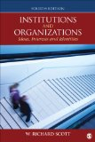 Institutions and Organizations Ideas, Interests, and Identities 4th 2014 edition cover