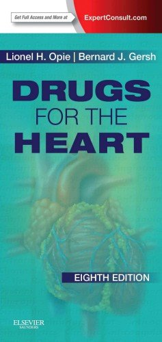 Drugs for the Heart Expert Consult - Online and Print 8th 2013 edition cover