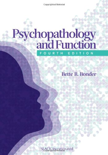 Psychopathology and Function  4th 2010 edition cover