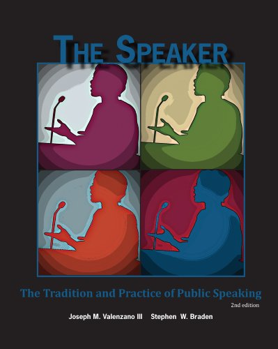 Speaker  2nd edition cover
