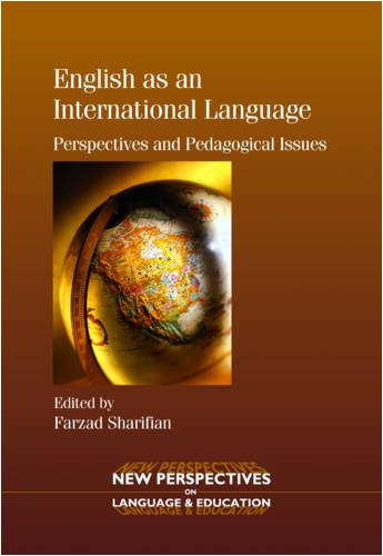 English as an International Language Perspectives and Pedagogical Issues  2009 edition cover