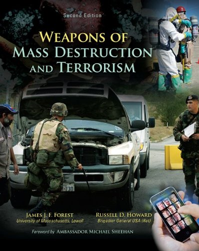 Weapons of Mass Destruction and Terrorism  2nd 2013 9780078026225 Front Cover