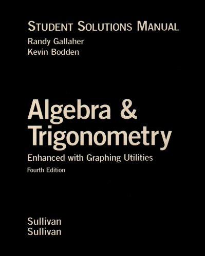 ALGEBRA+TRIG.ENHANCED...-STUD. 4th 2006 9780131543225 Front Cover