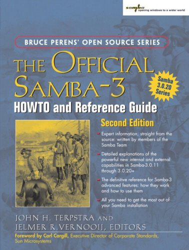 Official Samba-3 HOWTO and Reference Guide  2nd 2006 (Revised) edition cover