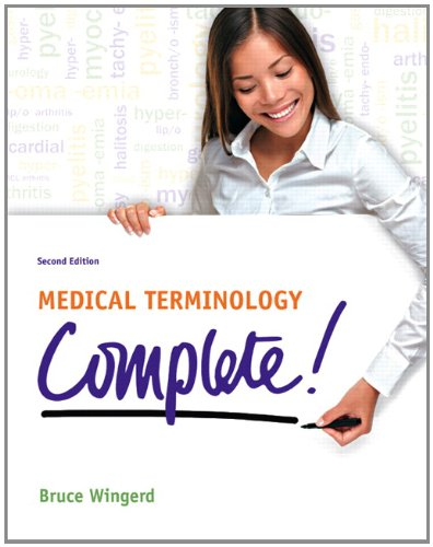 Medical Terminology Complete!  2nd 2013 (Revised) edition cover