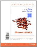 Foundations of Macroeconomics, Student Value Edition Plus NEW MyEconLab with Pearson EText -- Access Card Package  7th 2015 edition cover