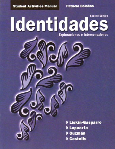 Identidades  2nd 2009 9780135136225 Front Cover