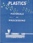 Plastics Materials and Processing 1st 1996 edition cover
