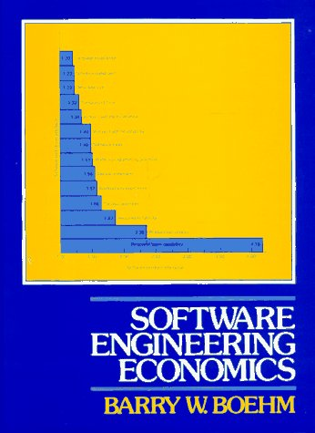 Software Engineering Economics   1982 9780138221225 Front Cover