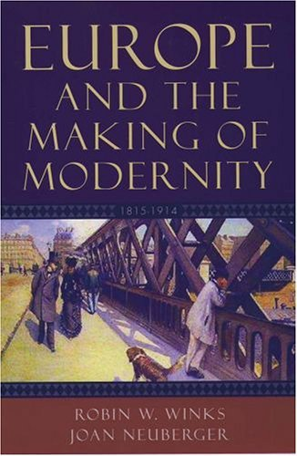 Europe and the Making of Modernity 1815-1914  2005 edition cover