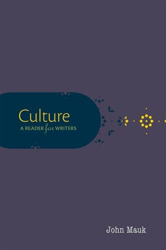 Culture A Reader for Writers  2014 edition cover