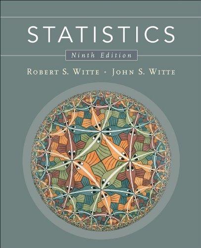 Statistics  9th 2010 edition cover