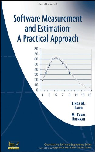 Software Measurement and Estimation A Practical Approach  2006 9780471676225 Front Cover