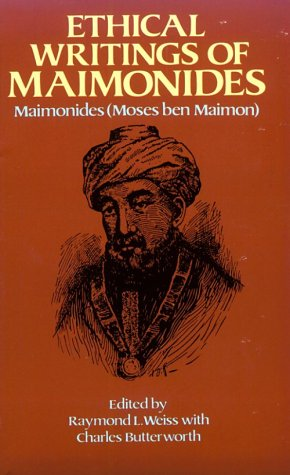 Ethical Writings of Maimonides  N/A edition cover