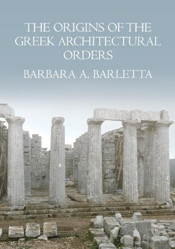 Origins of the Greek Architectural Orders   2009 edition cover