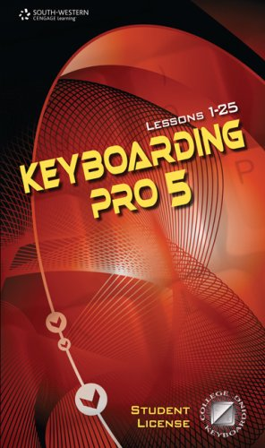 Keyboarding Pro 5, Version 5. 0. 4 (with User Guide and CD-ROM)  5th 2008 9780538731225 Front Cover