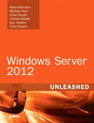 Windows Server 2012 Unleashed   2013 edition cover
