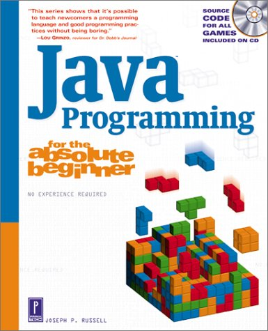 Java Programming for the Absolute Beginner   2002 edition cover