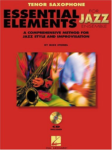 Essential Elements for Jazz Ensemble : Tenor Sax 1st edition cover