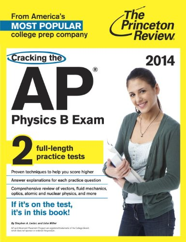 Cracking the AP Physics B Exam, 2014 Edition  N/A edition cover