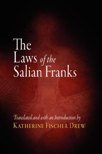 Laws of the Salian Franks   1991 edition cover