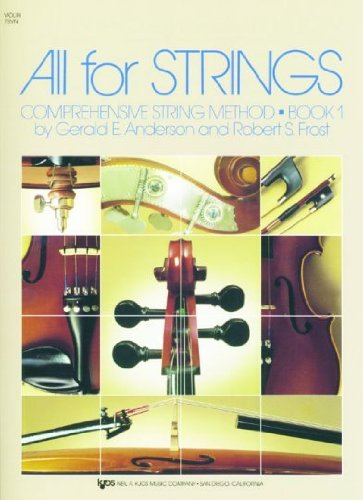All for Strings : Conductor Score N/A edition cover