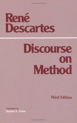 Discourse on Method  3rd 1998 edition cover