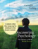 Cengage Advantage Books: Discovering Psychology The Science of Mind, Briefer Version  2013 edition cover