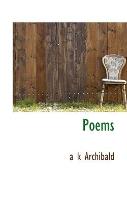 Poems  N/A 9781116747225 Front Cover