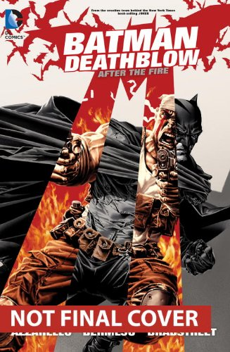 Batman/Deathblow: after the Fire   2014 9781401247225 Front Cover