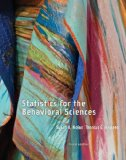 Statistics for the Behavioral Sciences:   2014 edition cover