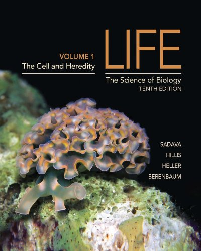 Life The Science of Biology - The Cell and Heredity 10th 2013 (Revised) edition cover