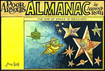 Poor Arnold's Almanac   1998 9781560973225 Front Cover