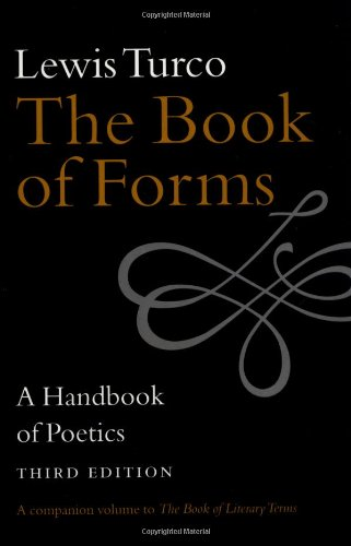 Book of Forms A Handbook of Poetics 3rd 2000 edition cover