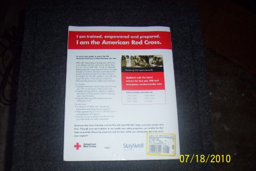 First Aid - Responding to Emergencies Participant's Manual 5th 2005 edition cover