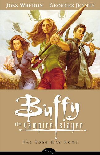Buffy the Vampire Slayer Season 8 Volume 1: the Long Way Home The Long Way Home  2007 edition cover