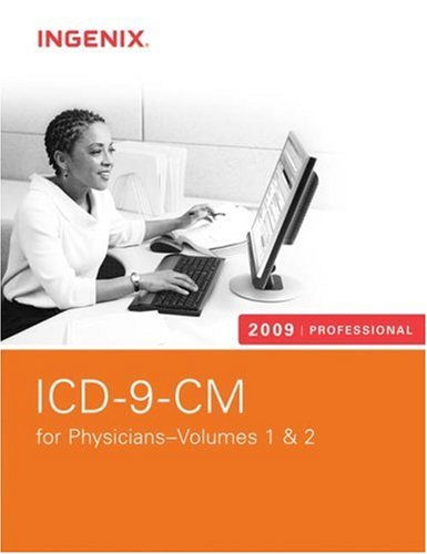 ICD-9-CM Professional for Physicians, Volumes 1 And 2-2009 (Softbound)   2009 edition cover