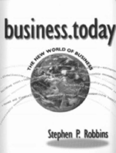 Business.Today The New World of Business  2001 9780030313226 Front Cover