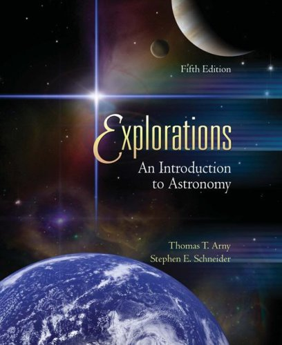 Explorations An Introduction to Astronomy 5th 2008 9780073347226 Front Cover