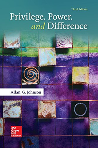 Privilege, Power, and Difference:   2017 9780073404226 Front Cover
