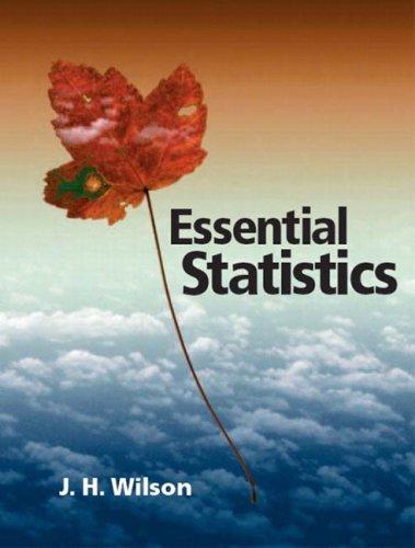 Essential Statistics   2005 edition cover